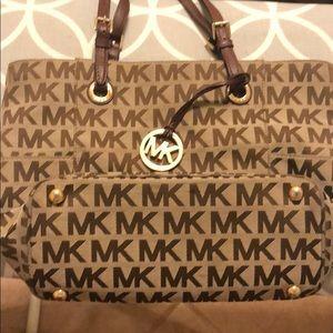 Authentic Michael Kors handbag. Gently used